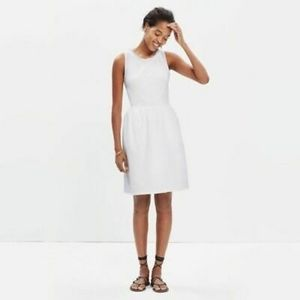 Madewell Ivory Sleeveless Afternoon Dress Large